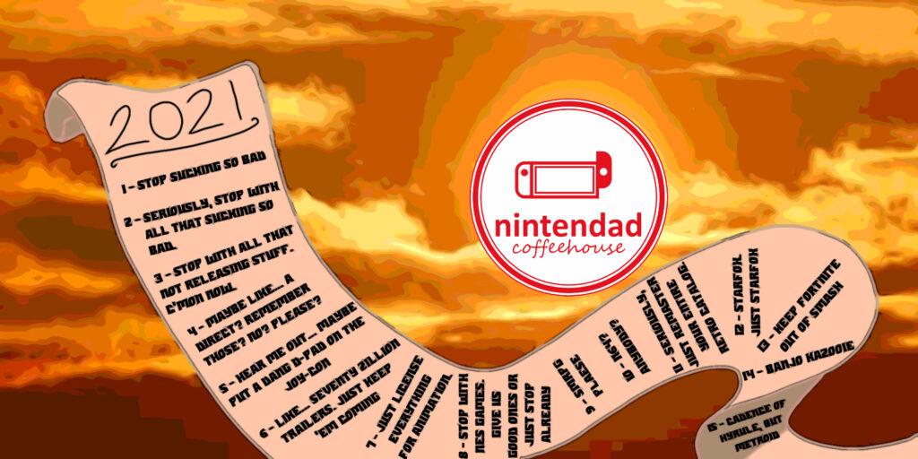 [Nintendad Coffeehouse] A simple man's Nintendo dreams for 2021