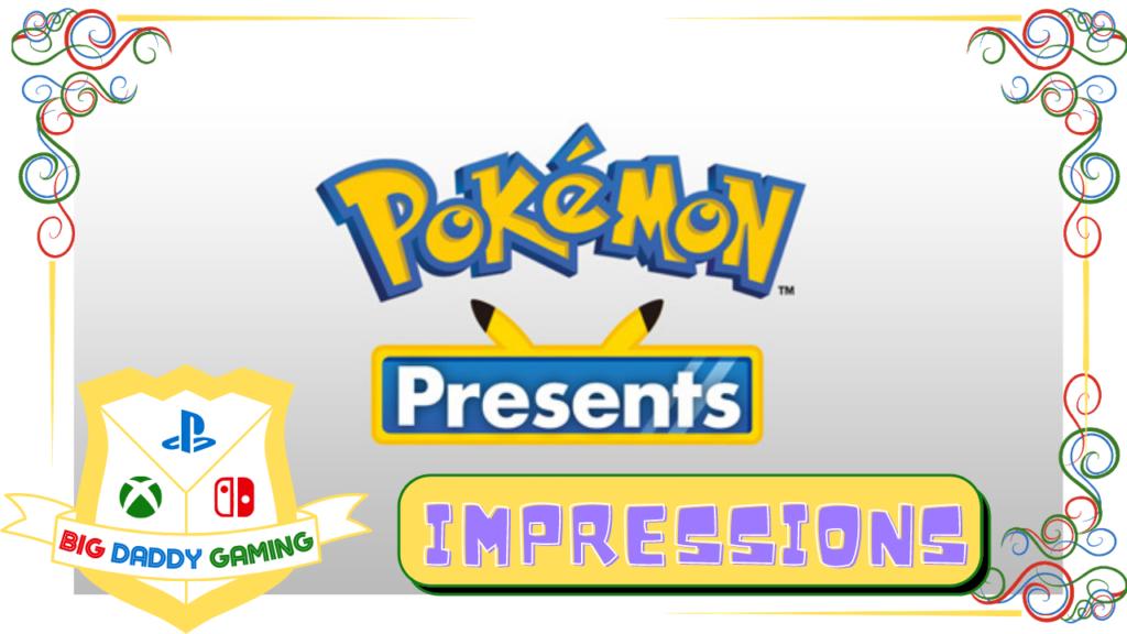 Pokemon Presents – Pokemon Does What Nintendon't
