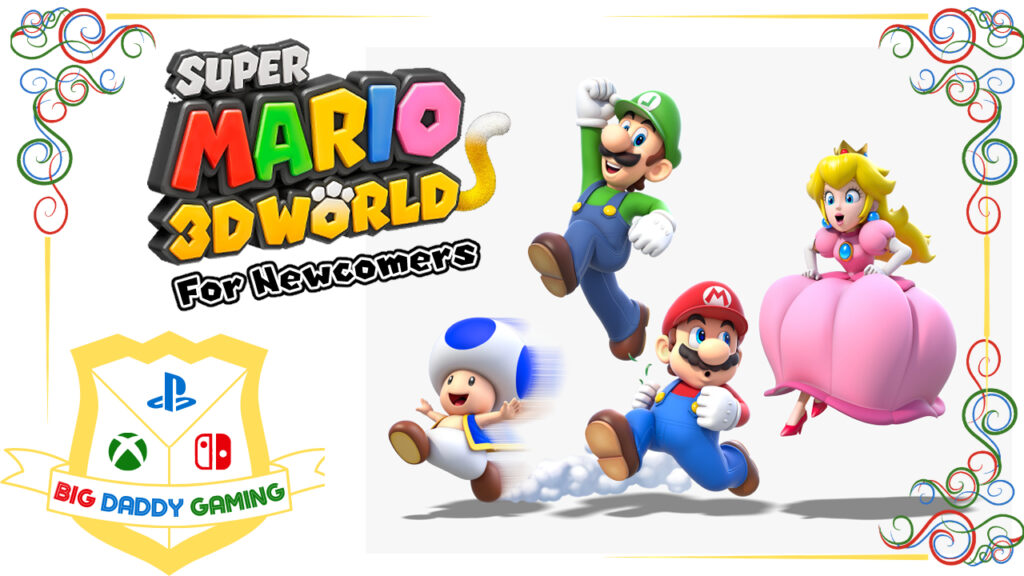[Review] Super Mario 3D World [For The Beginner] – Nintendo Switch
