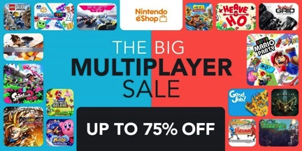 The BIG Multiplayer SALE | News | Nintendo Switch