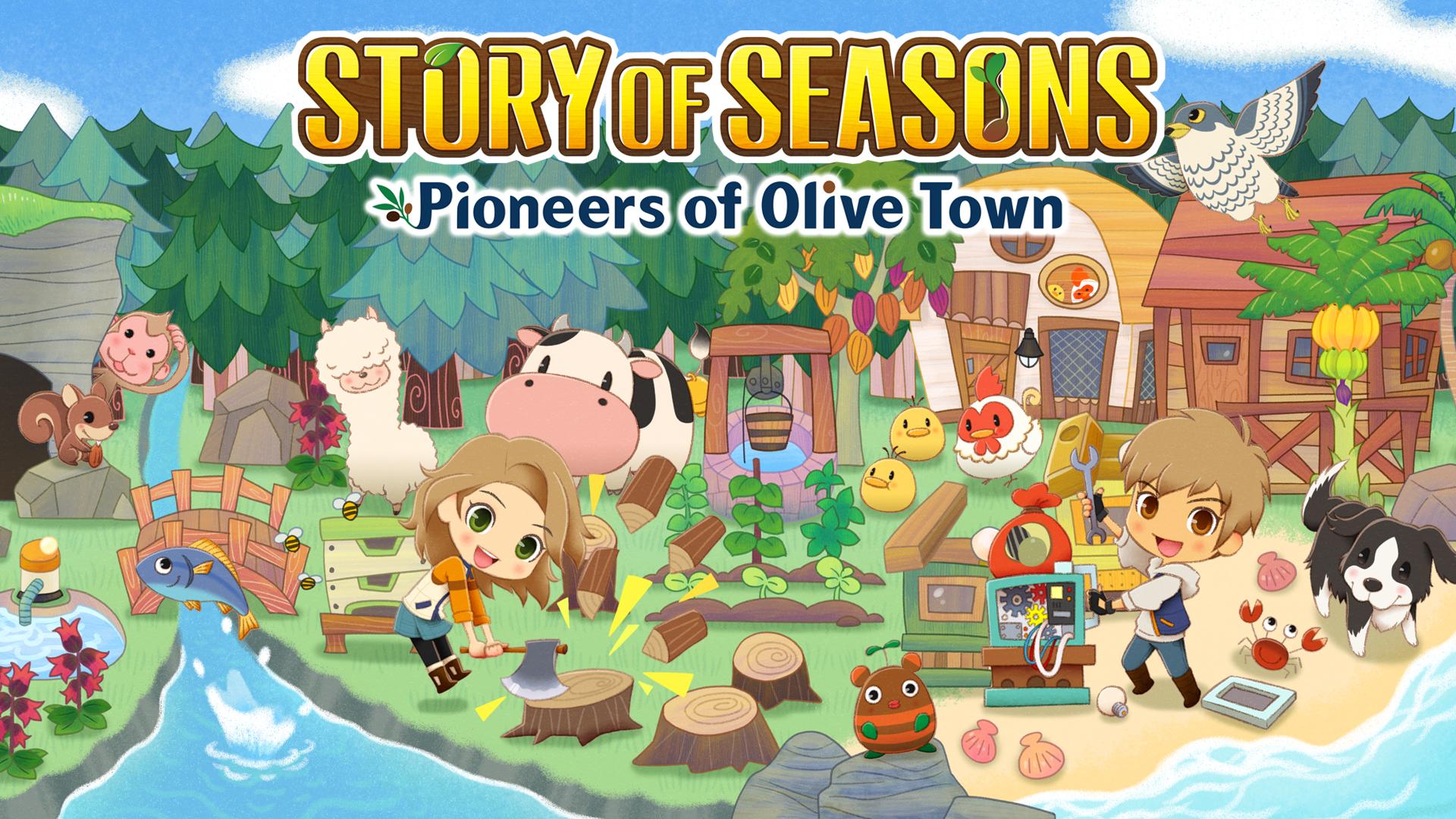 Story of Seasons: Pioneers of Olive Town Big Daddy Gaming