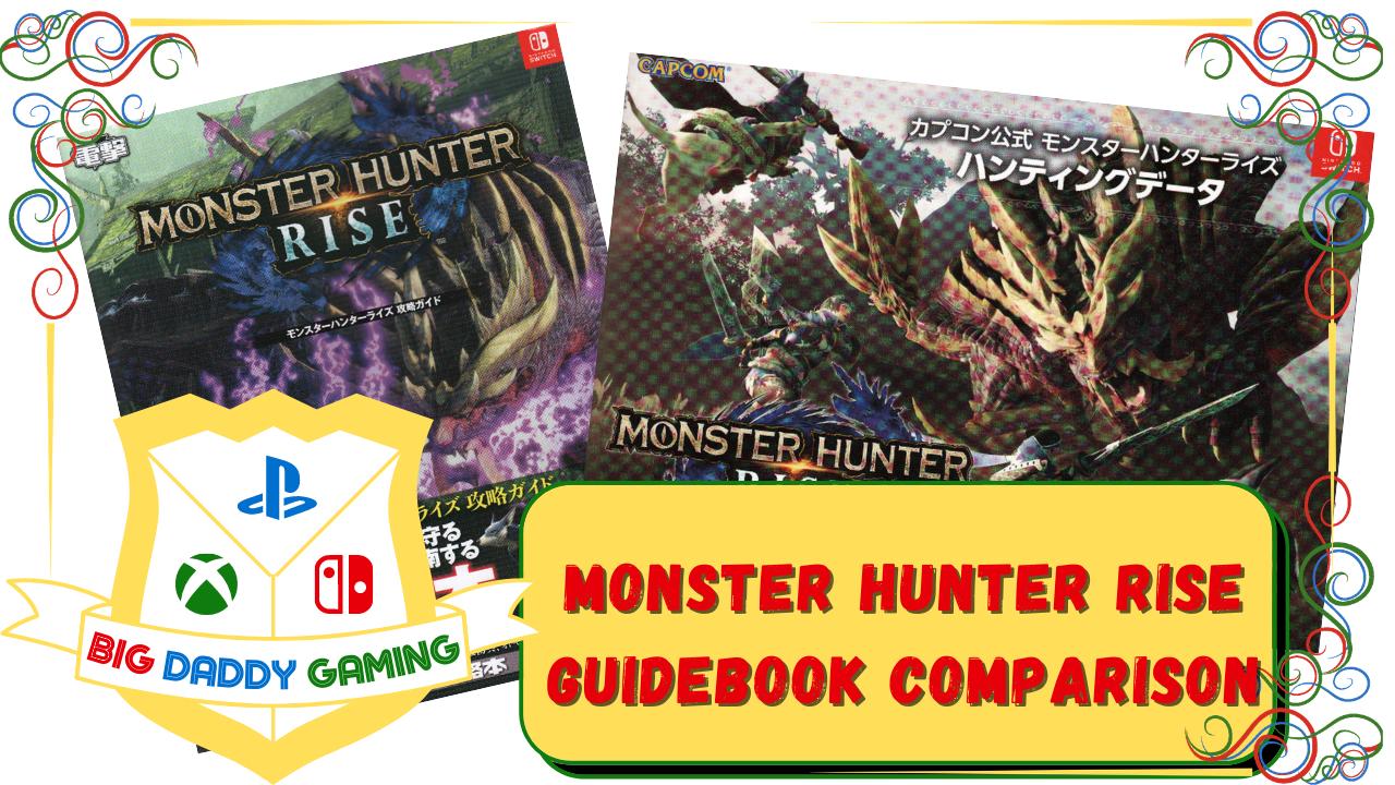 Monster Hunter Rise Guidebooks
