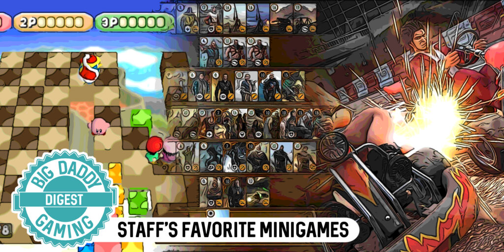 Staff's Favourite Mini-Games  | BDG Favourites  | Big Daddy Gaming