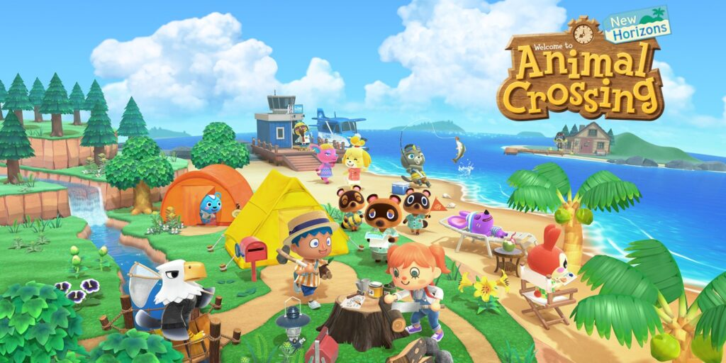 Mental Health and video games Animal Crossing