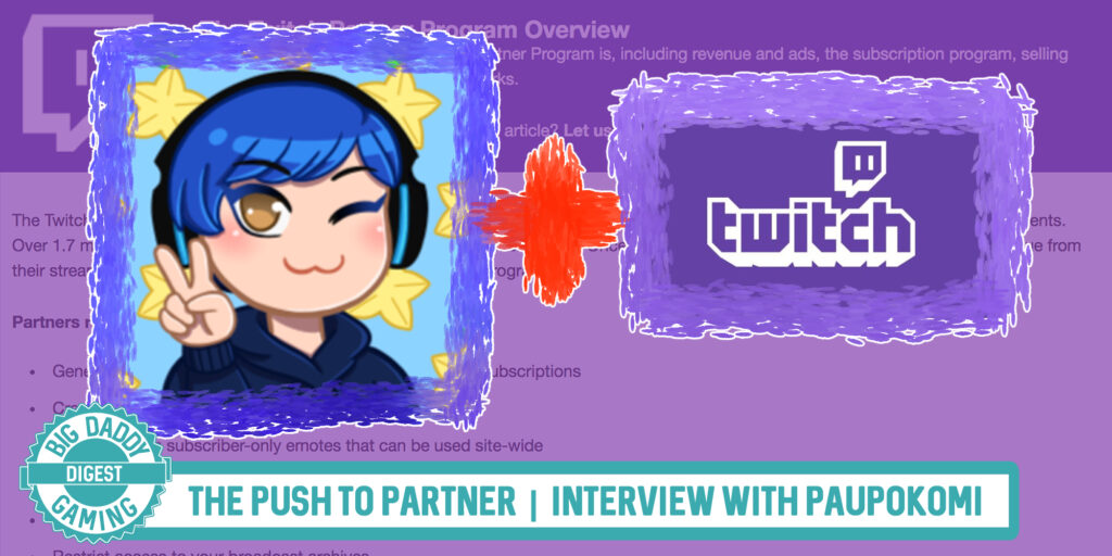 The Push to Partner | Interview with PaopuKomi