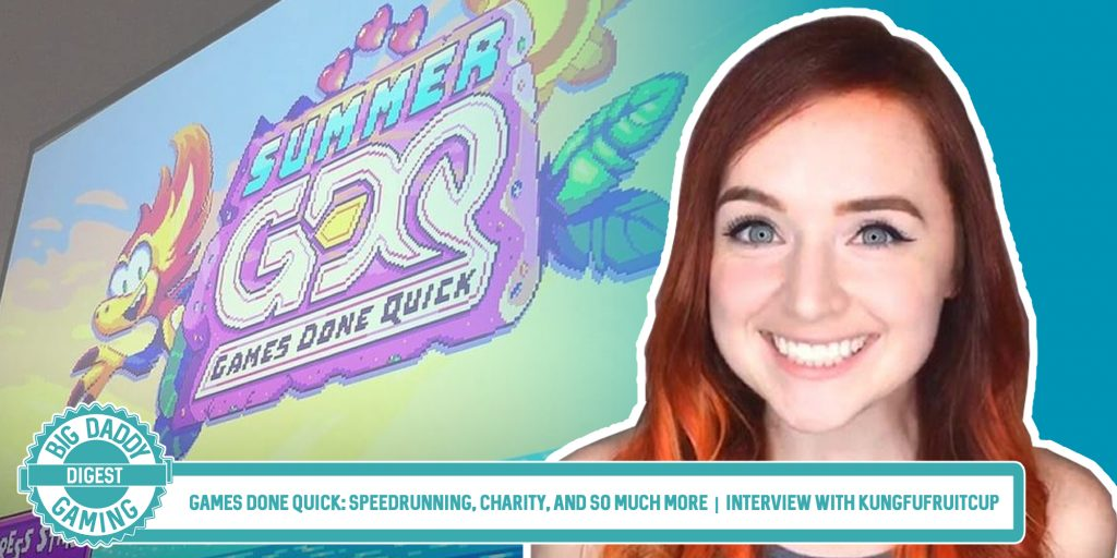 Games Done Quick: Speedrunning, Charity, and So Much More | Interview with Kungfufruitcup