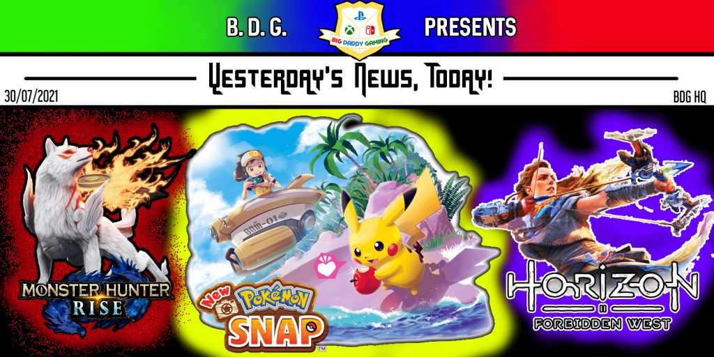 Yesterday's News Today   Death, Delays, and DLC