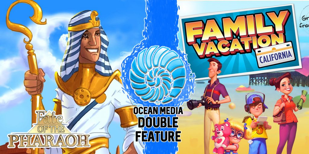 Ocean Media Double Feature | Fate Of The Pharaoh and Family Vacation: California  | Review | Nintendo Switch