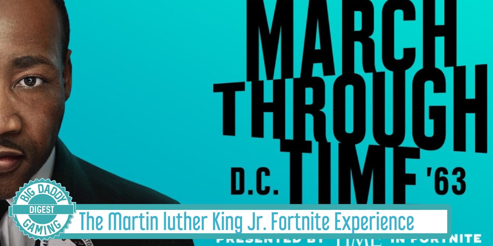 Martin Luther King Jr Fortnite