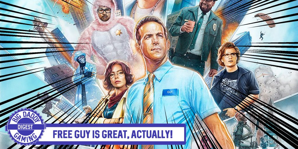 Free Guy is Great, actually! | Big Daddy Digest and Review