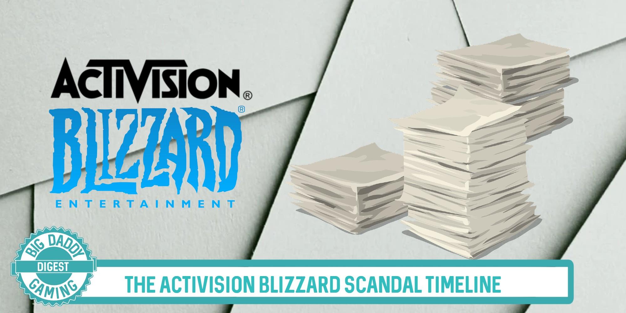 Activision Blizzard Scandal